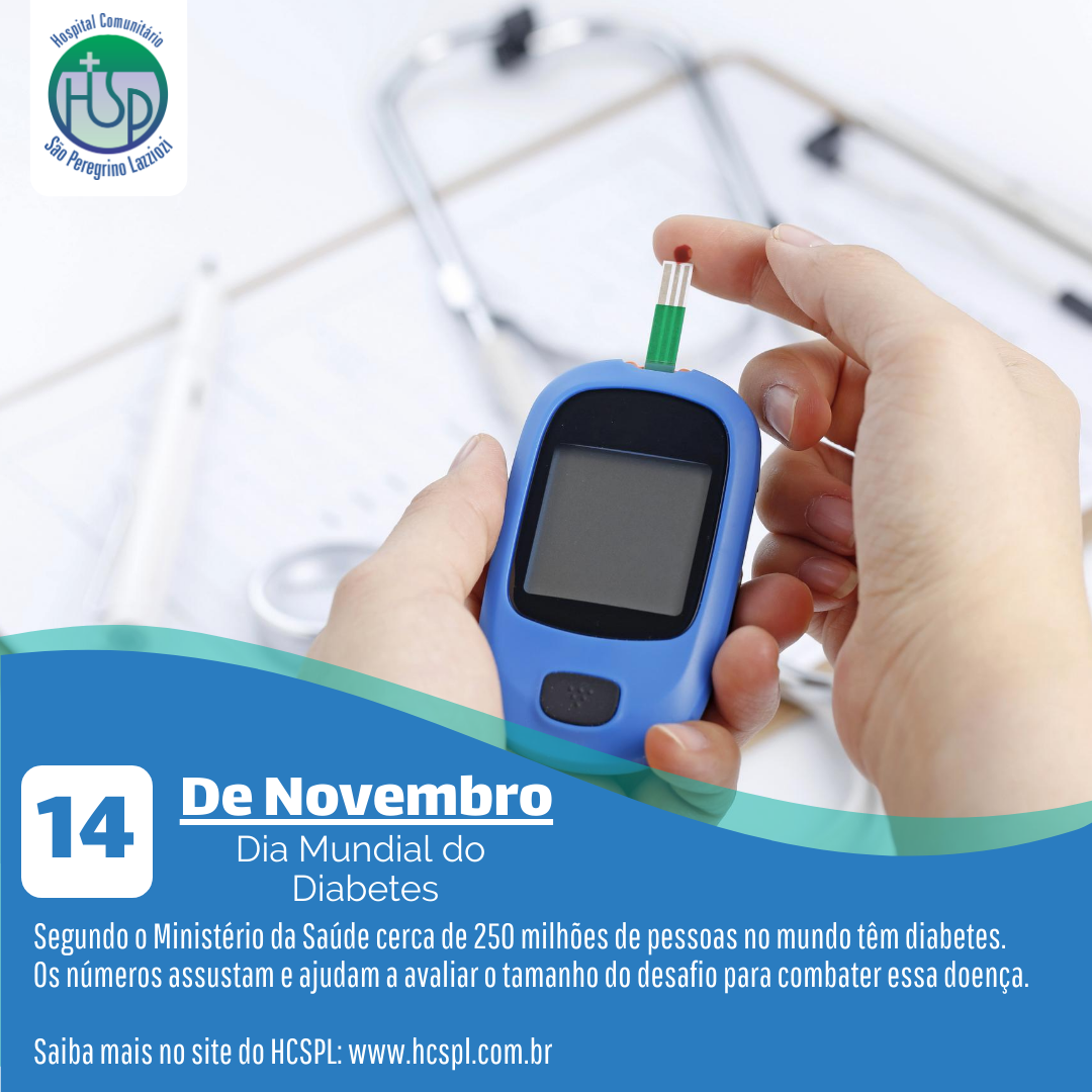 HCSPL | Dia Mundial do Diabetes.